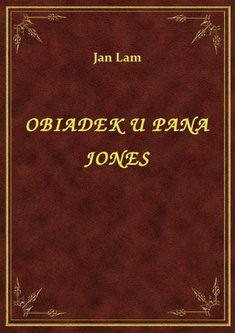 ebooki: Obiadek U Pana Jones – ebook