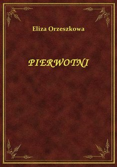 ebooki: Pierwotni – ebook