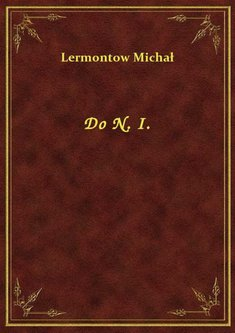 ebooki: Do N. I. – ebook
