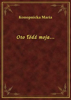 ebooki: Oto łódź moja... – ebook