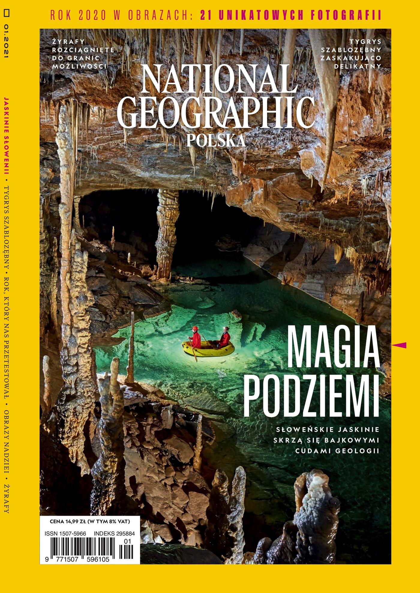National Geographic - e-wydanie - 1/2021 - NEXTO.PL